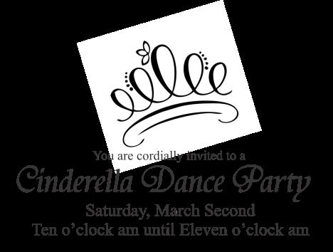 Cinderella Invite